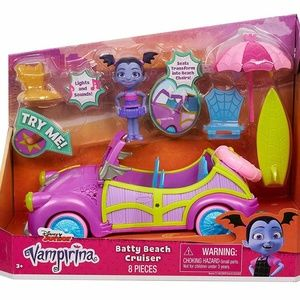 Disney Jr Vampirina Batty Beach Cruiser 8pc